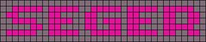 Alpha pattern #6924