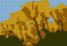 Alpha pattern #6927