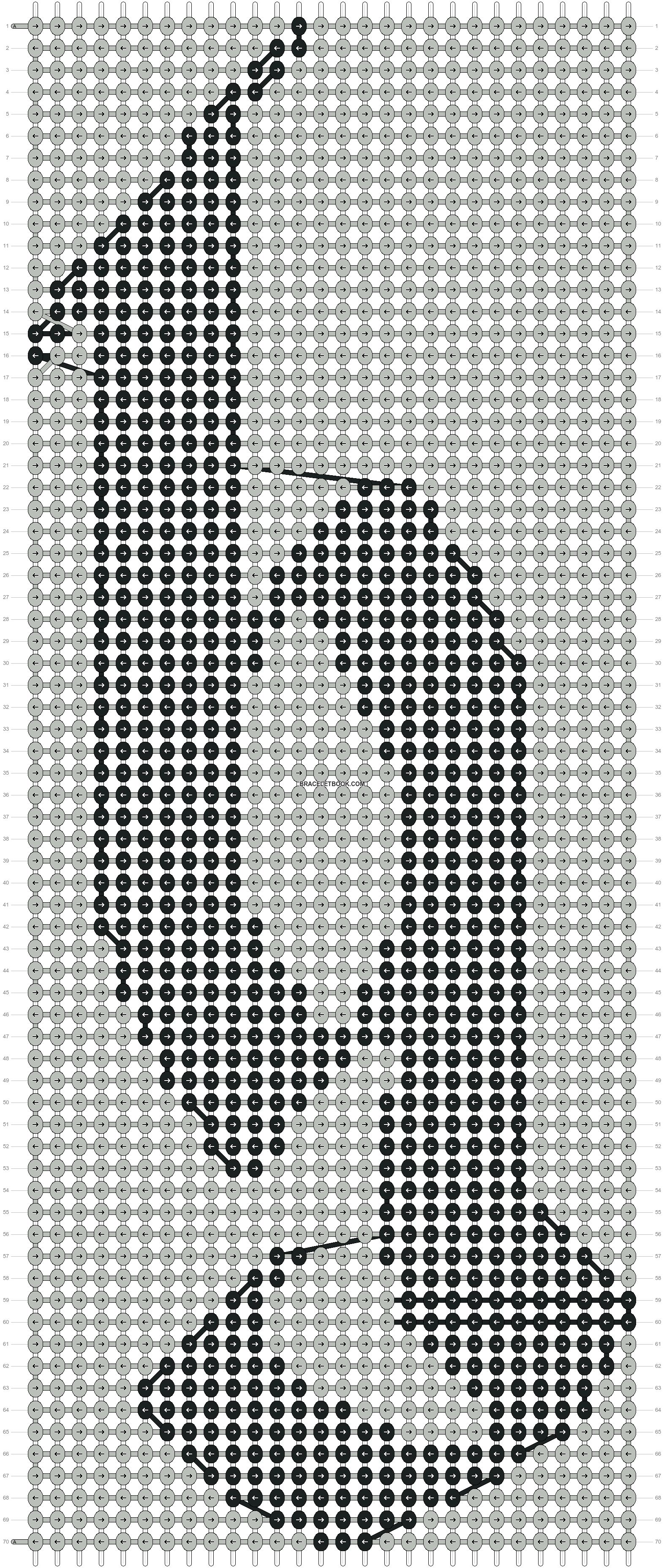 Alpha pattern #6929 pattern