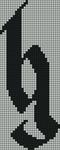 Alpha pattern #6929