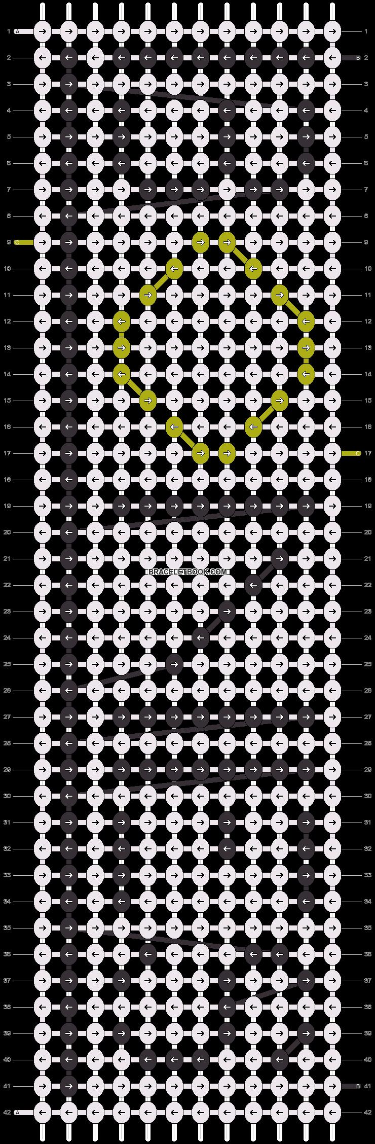 Alpha pattern #6931 pattern