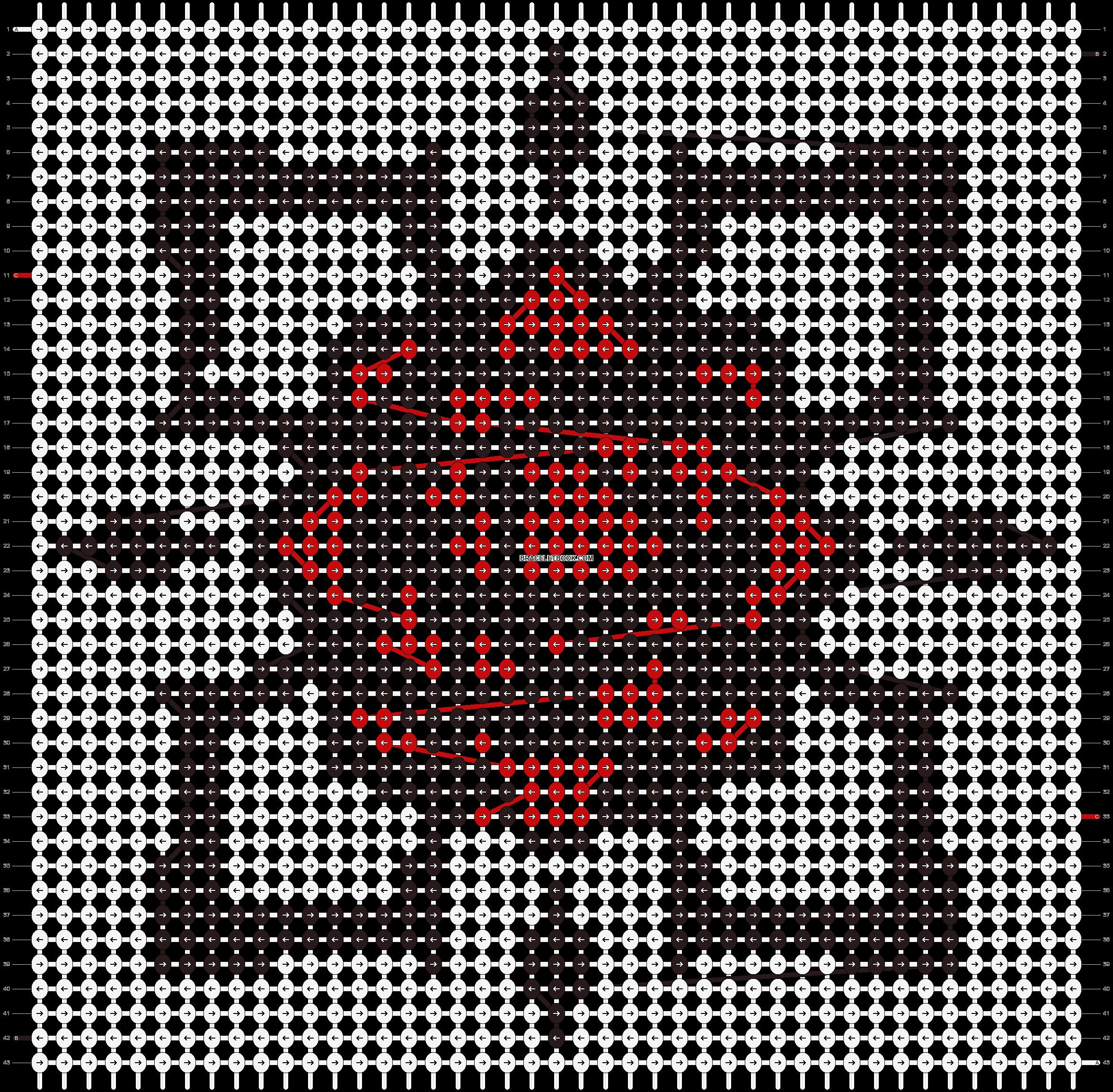 Alpha pattern #6932 pattern