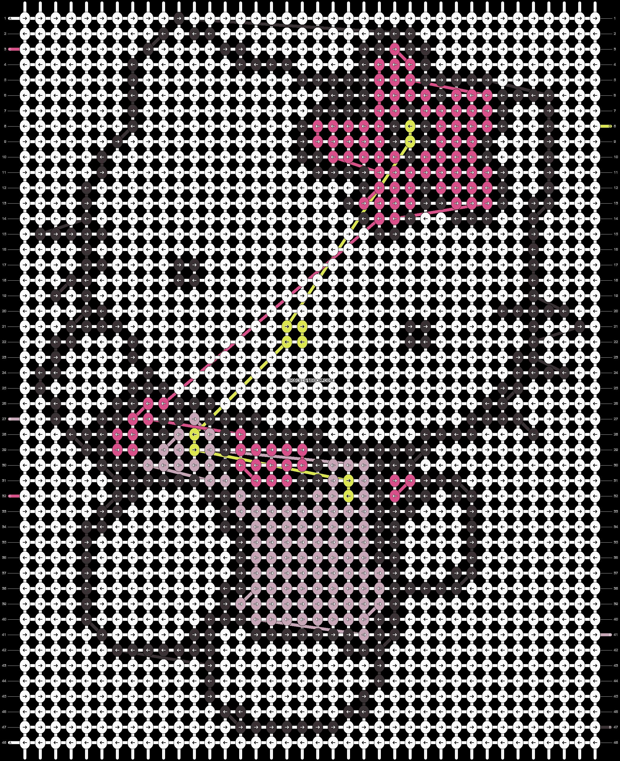 Alpha pattern #6934 pattern