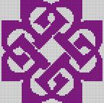 Alpha Friendship Bracelet Pattern #6935