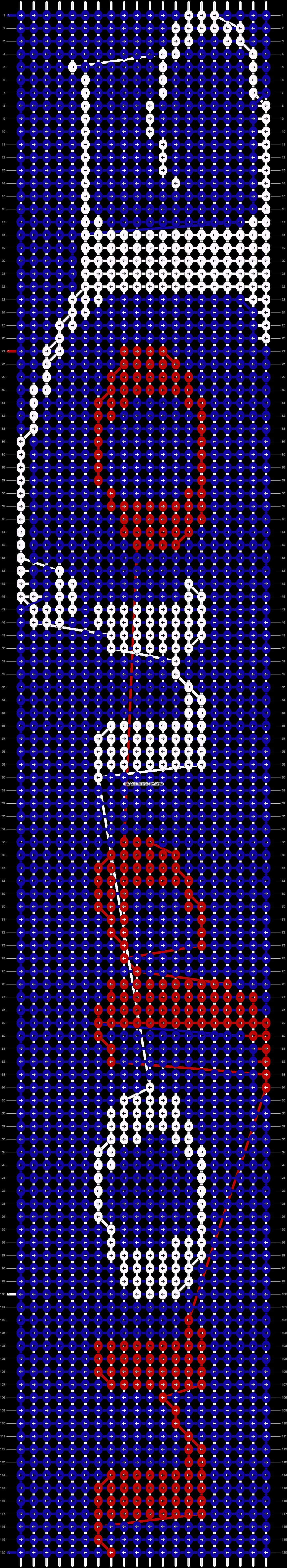 Alpha pattern #6936 pattern