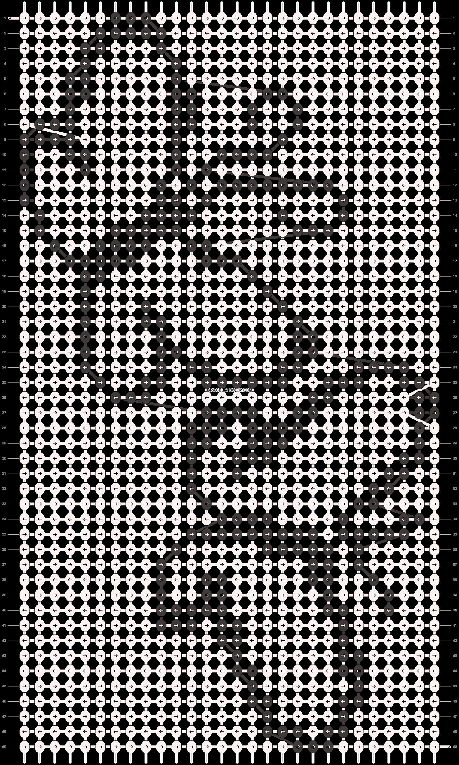 Alpha pattern #6938 pattern