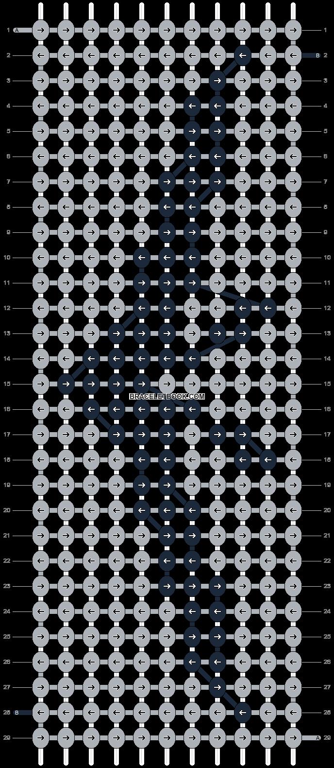Alpha pattern #6939 pattern