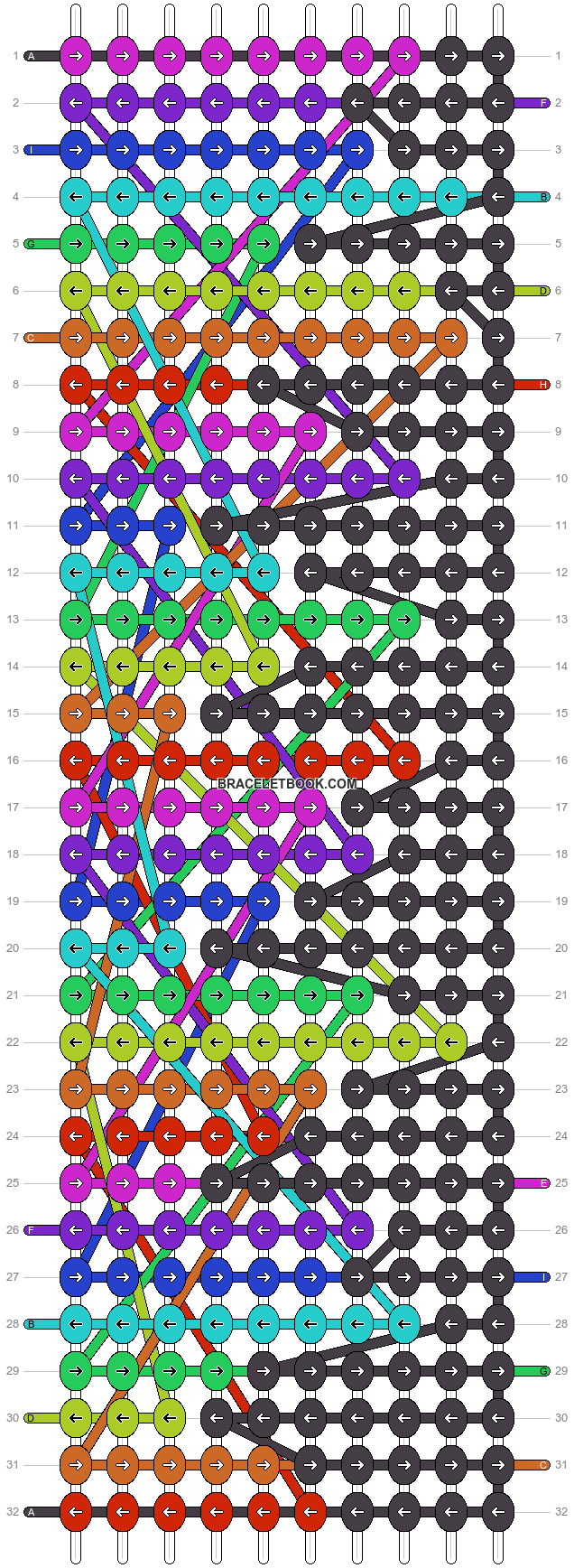 Alpha pattern #6942 pattern