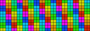 Alpha pattern #6945