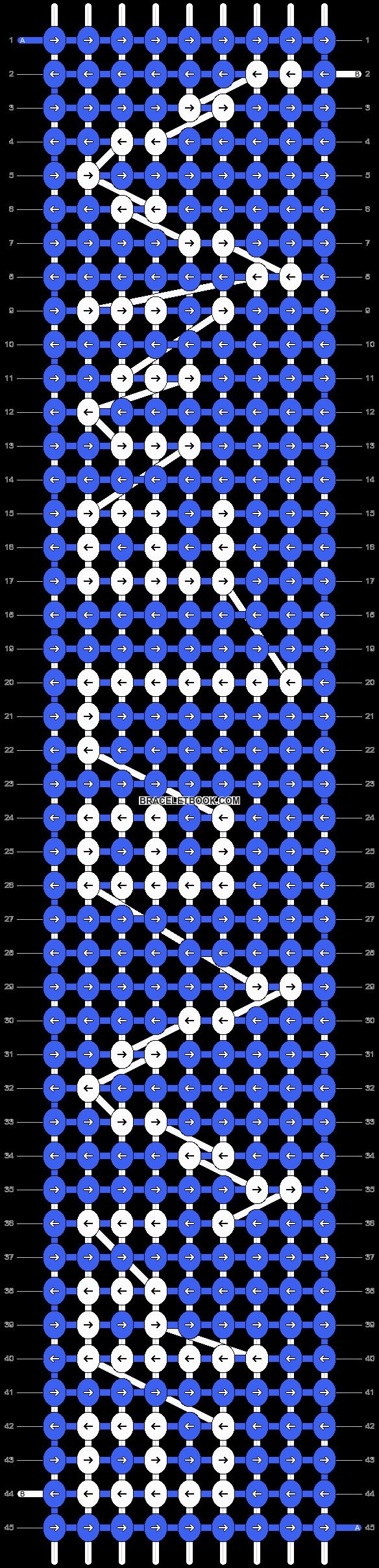 Alpha pattern #6952 pattern