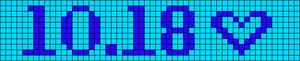 Alpha pattern #6956