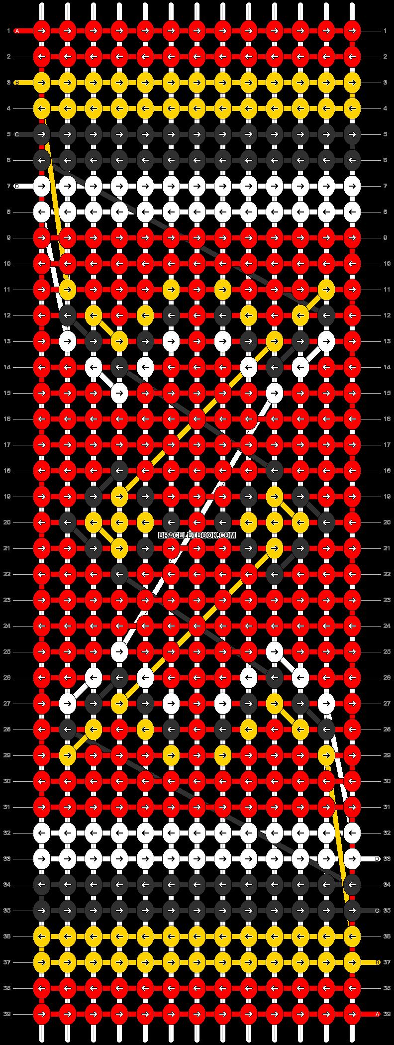 Alpha pattern #6961 pattern