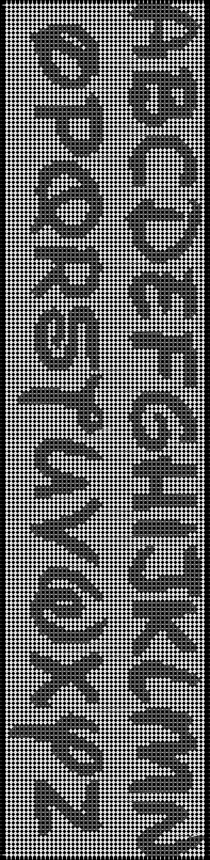 Alpha pattern #6963 pattern