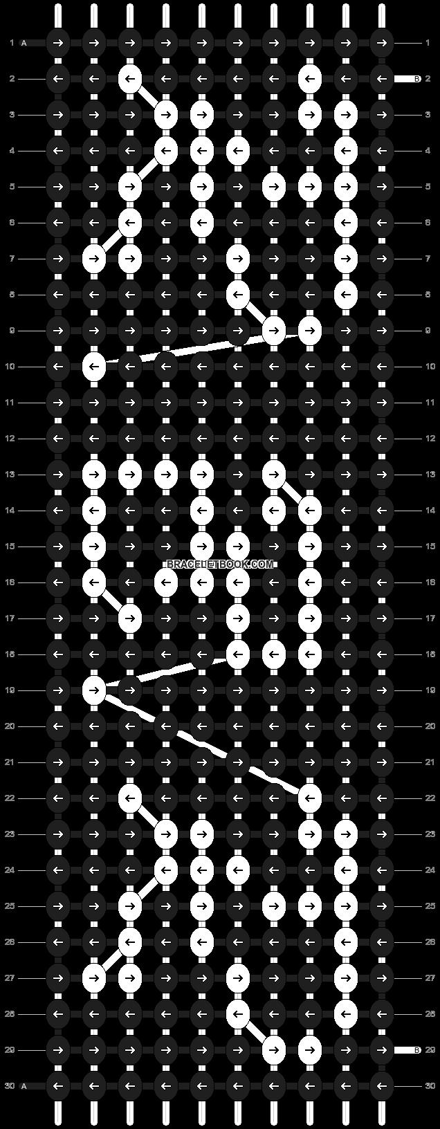 Alpha pattern #6964 pattern