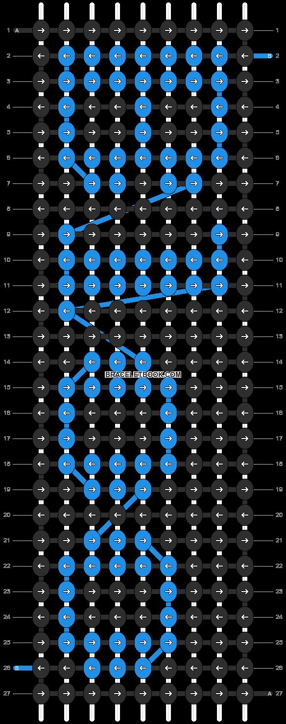 Alpha pattern #6966 pattern