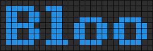 Alpha pattern #6966