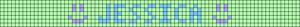 Alpha pattern #6967