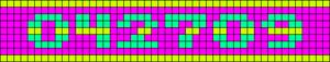 Alpha pattern #6968