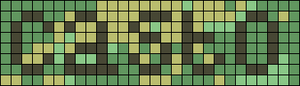Alpha pattern #6975