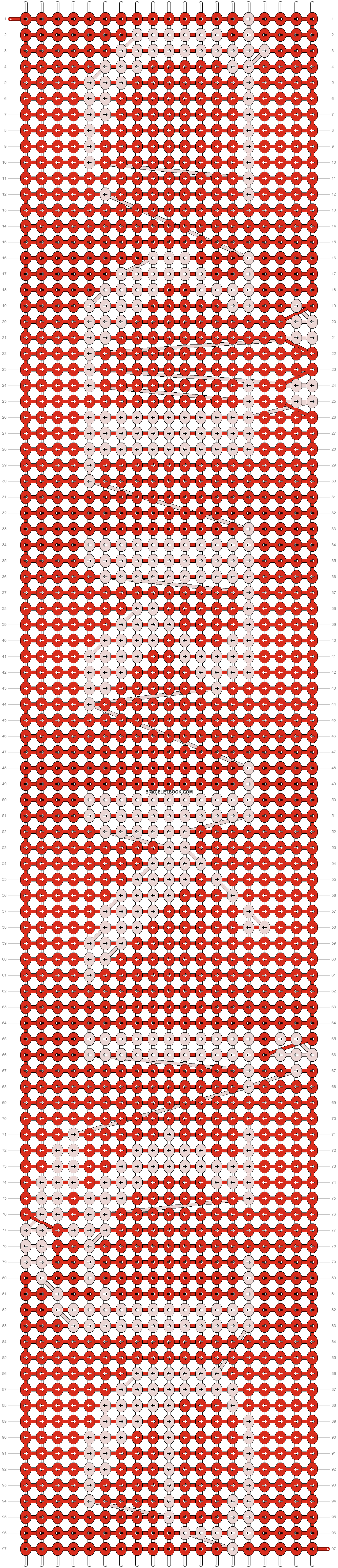 Alpha pattern #6977 pattern