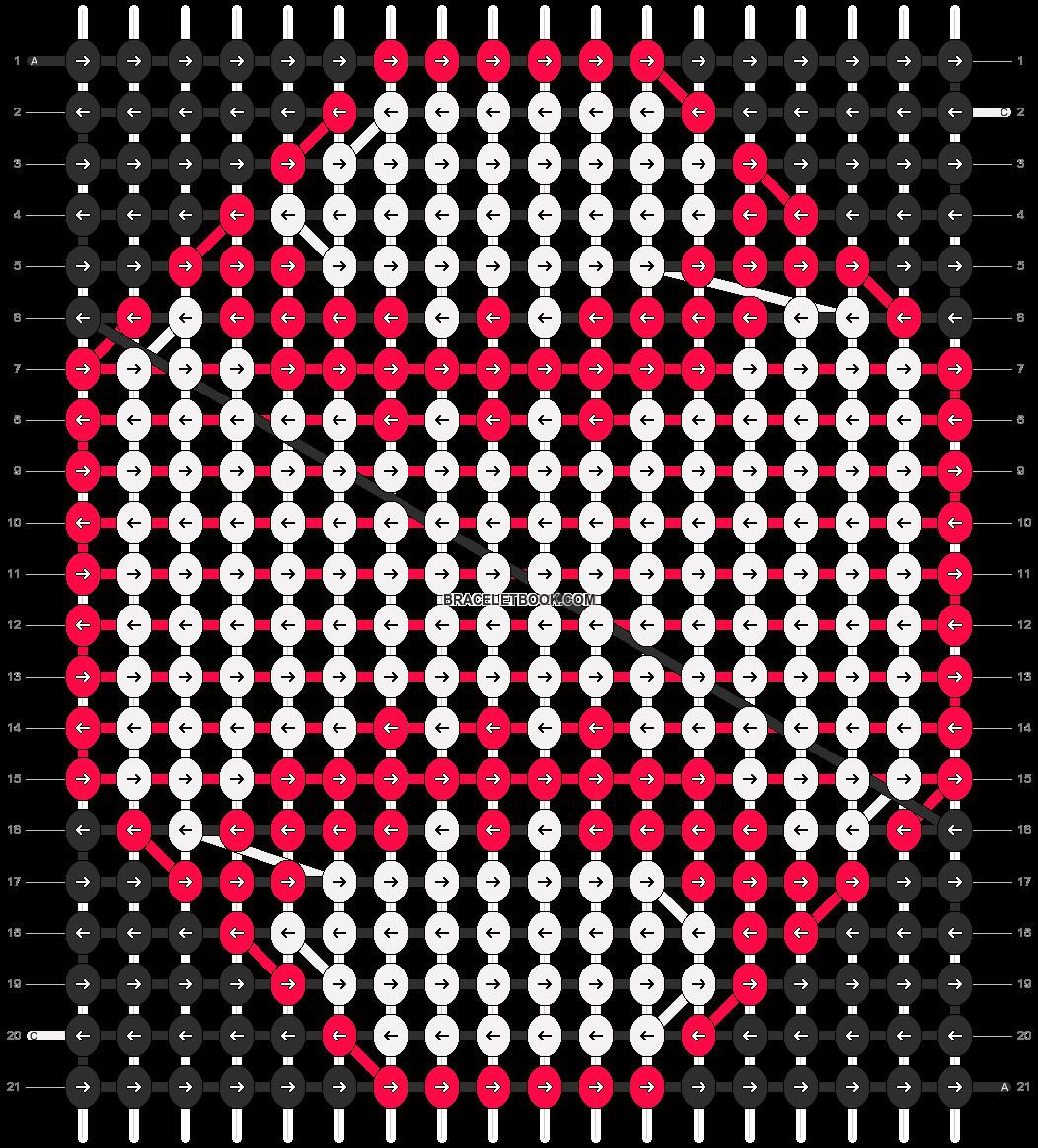 Alpha pattern #6983 pattern