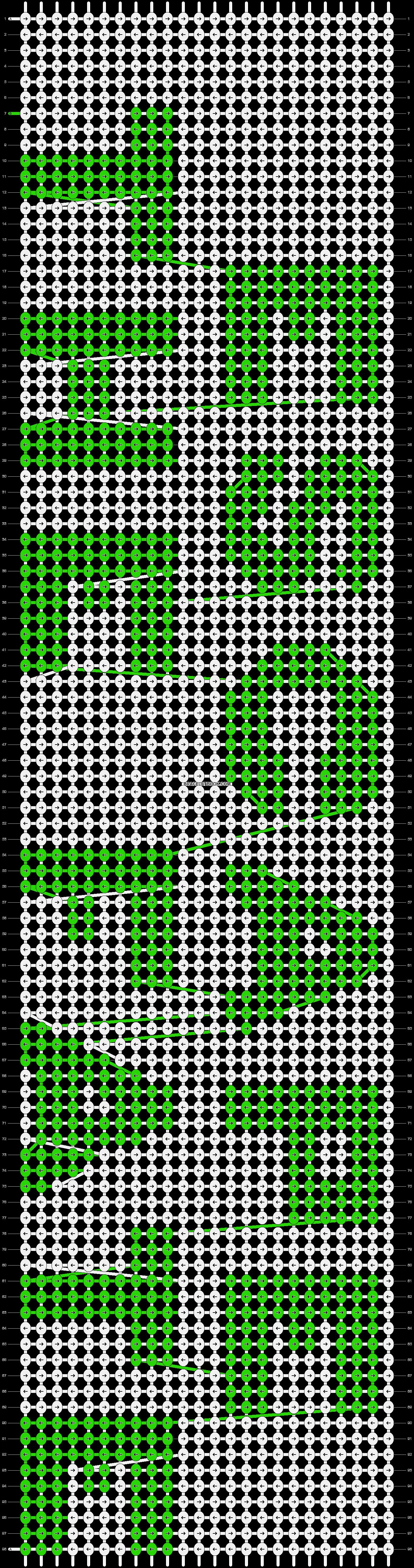 Alpha pattern #6985 pattern