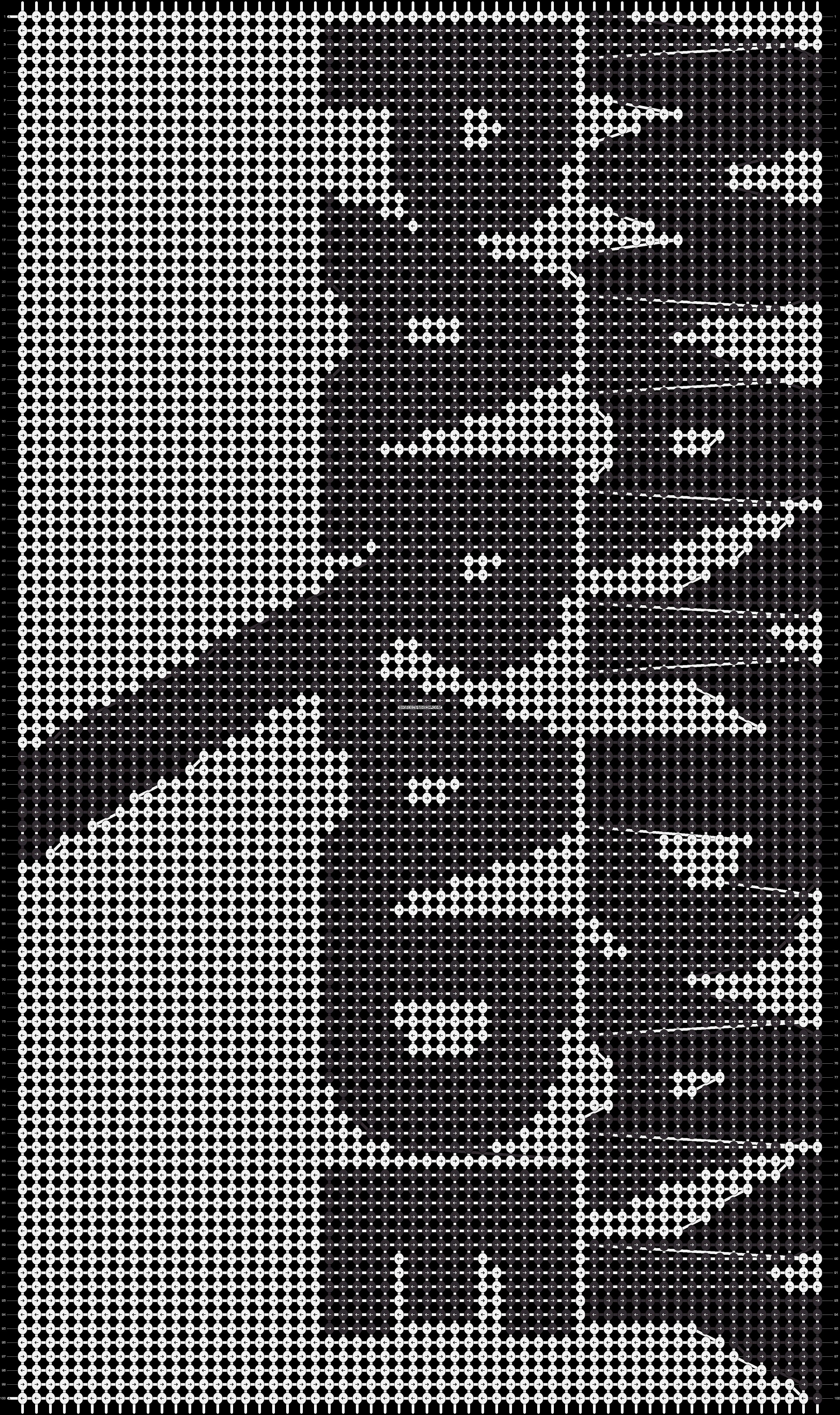 Alpha pattern #6986 pattern