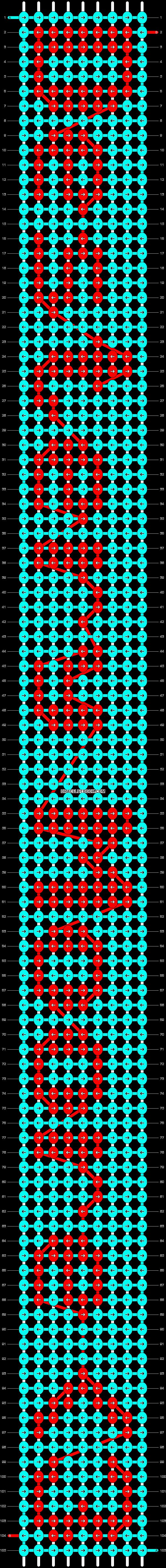 Alpha pattern #6989 pattern