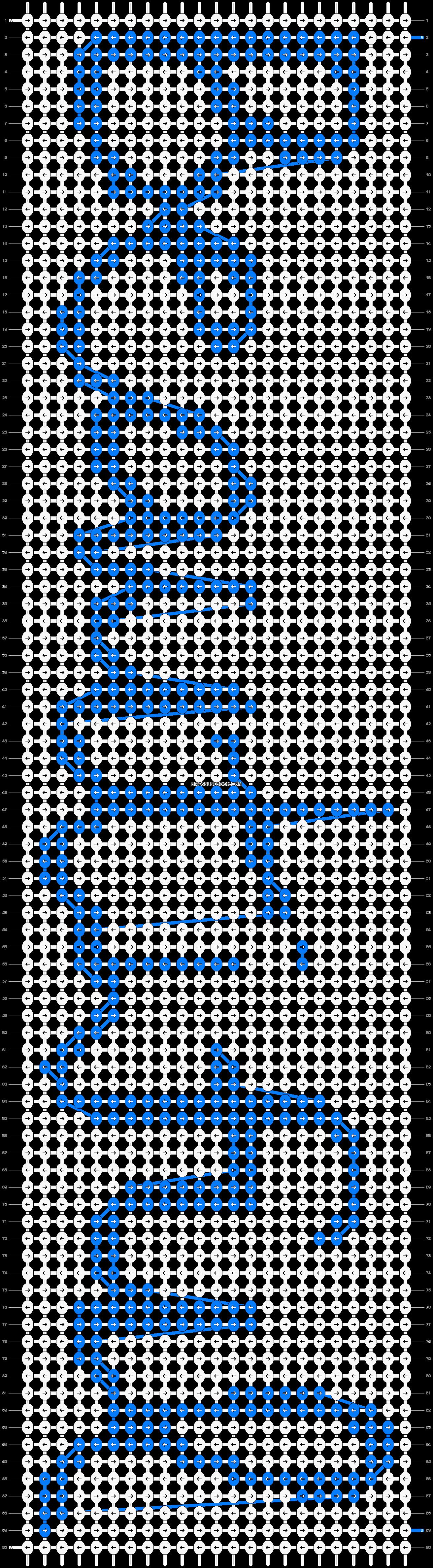 Alpha pattern #6996 pattern