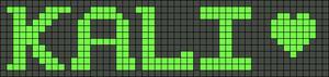 Alpha pattern #7002