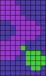 Alpha pattern #7006