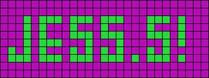Alpha pattern #7007