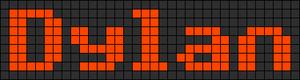 Alpha pattern #7009