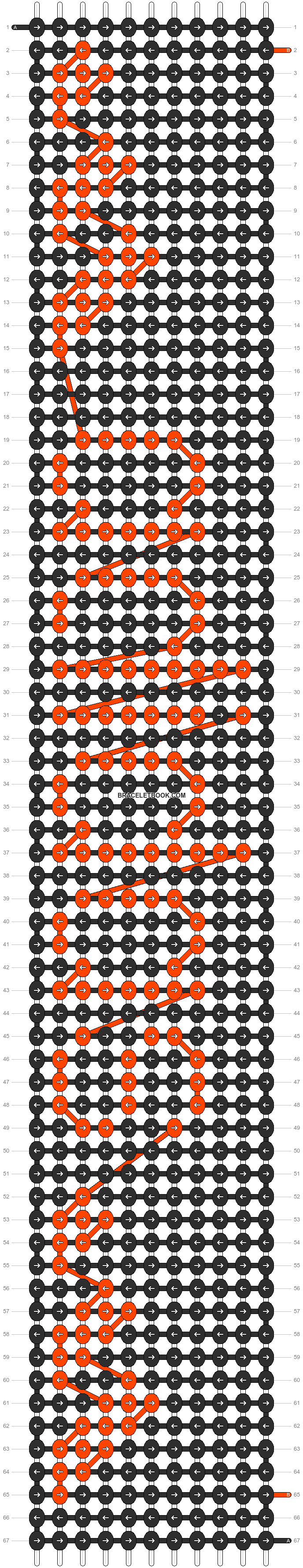 Alpha pattern #7014 pattern