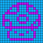 Alpha pattern #7023