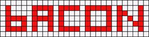 Alpha Friendship Bracelet Pattern #7026