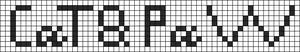 Alpha pattern #7032