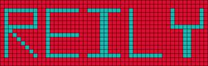 Alpha pattern #7034