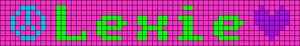 Alpha pattern #7037