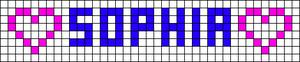 Alpha pattern #7040