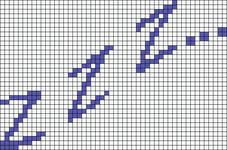 Alpha pattern #7052
