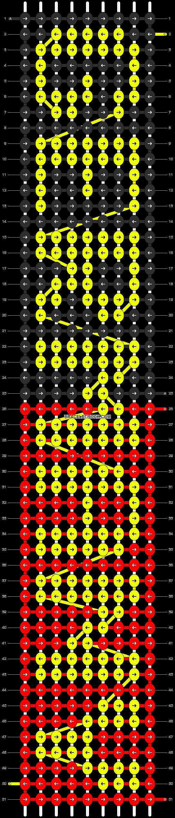 Alpha pattern #7055 pattern