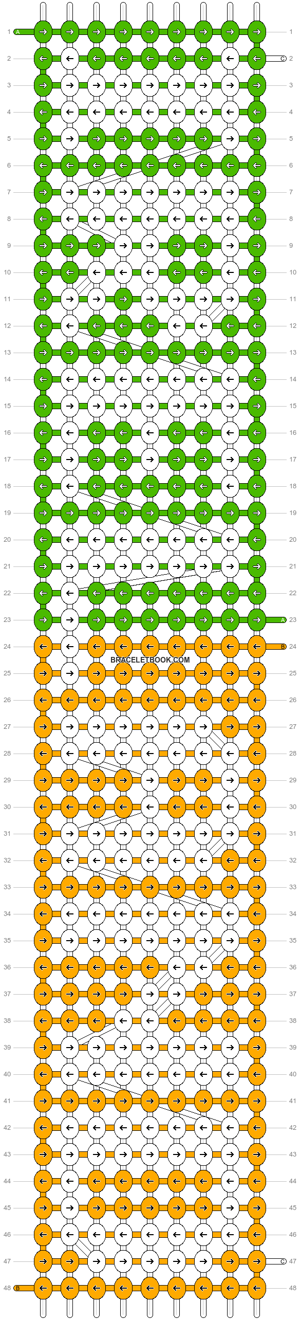 Alpha pattern #7056 pattern