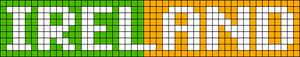 Alpha Friendship Bracelet Pattern #7056