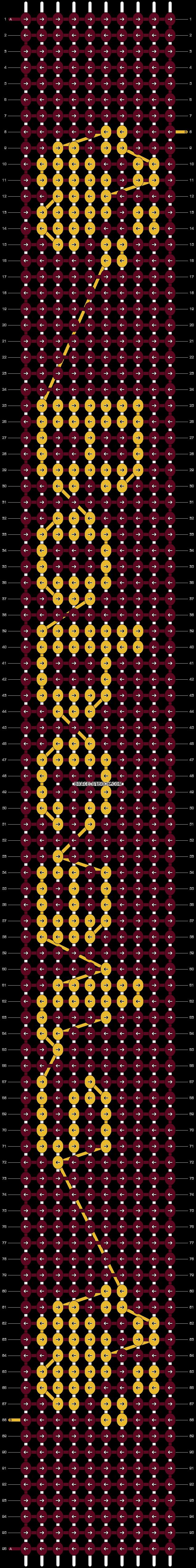 Alpha pattern #7062 pattern