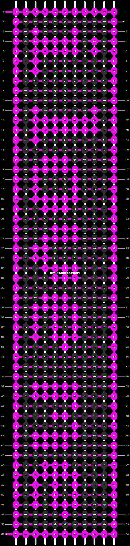 Alpha pattern #7063 pattern