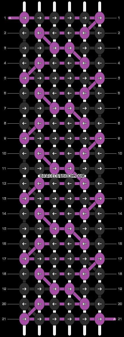 Alpha pattern #7064 pattern