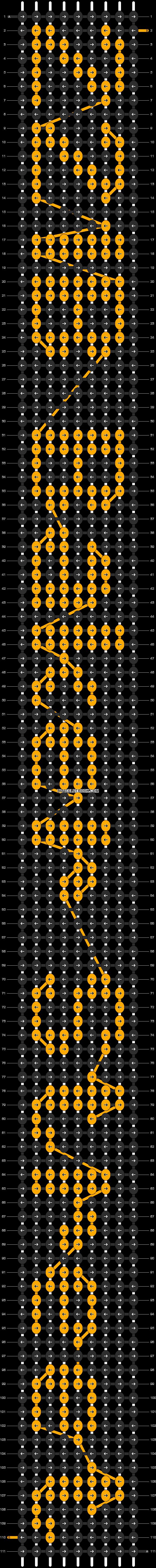 Alpha pattern #7068 pattern