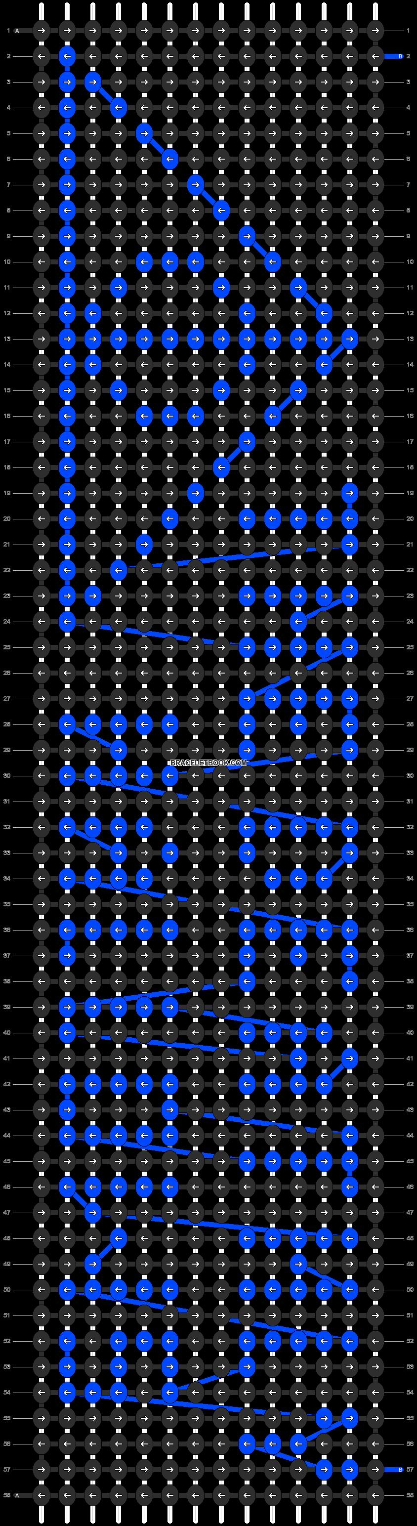 Alpha pattern #7070 pattern