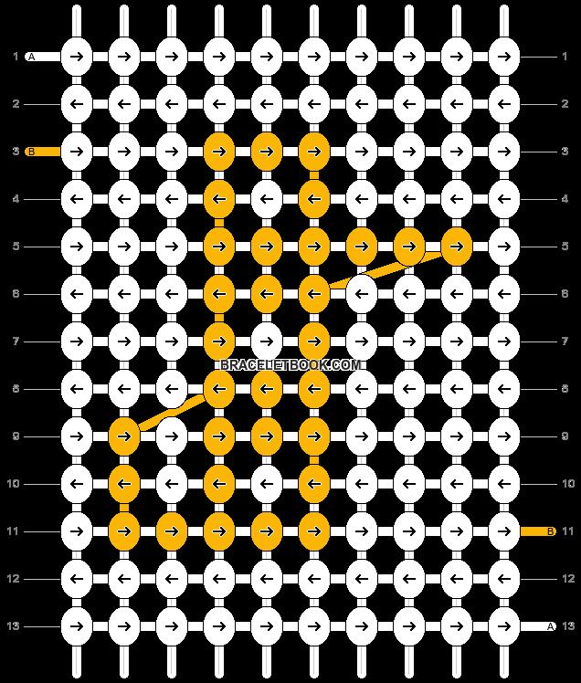 Alpha pattern #7077 pattern